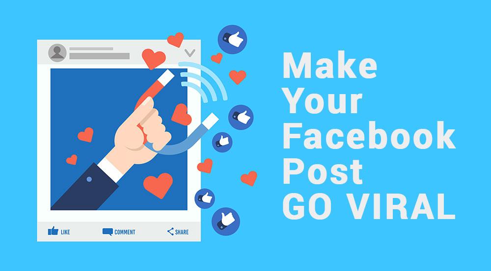 Make Your Facebook Post Go Viral | Kreatiwo